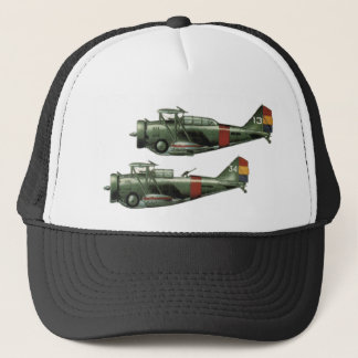 World War 2 Formation Flying Trucker Hat
