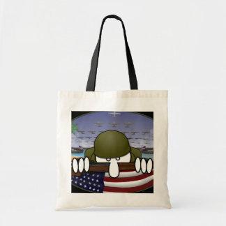 World War 2 Kilroy Bag