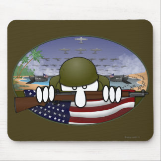World War 2 Kilroy Mousepad