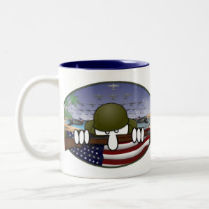 World War 2 Kilroy Mug -1 mug