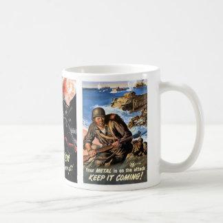 World War 2 Posters #1 Classic White Coffee Mug