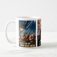 World War 2 Posters #1 mug