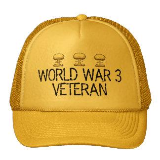 World War 3 Veteran Trucker Hat