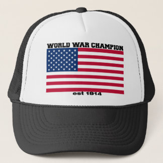 World War Champion Hat