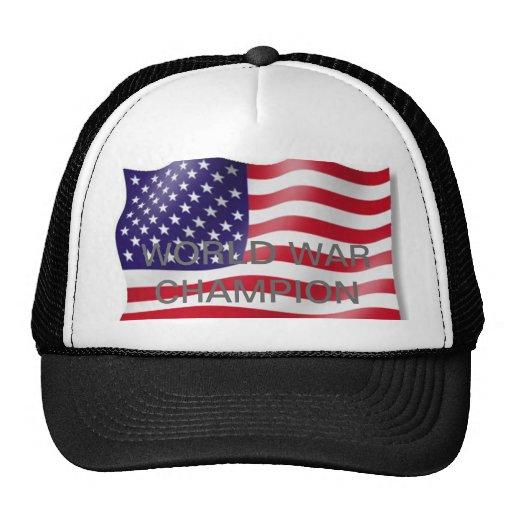 World war champion trucker hat