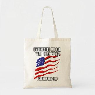 World War Champions Tote Bag
