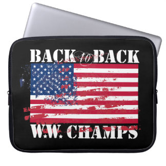 World War Champions Laptop Sleeves