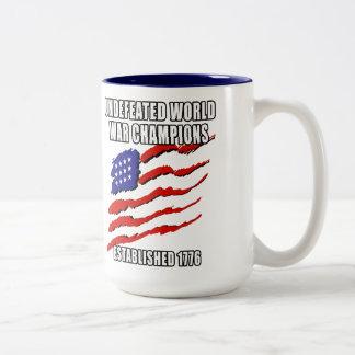 World War Champions Two-Tone Coffee Mug