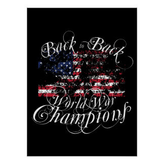World War Champions Print
