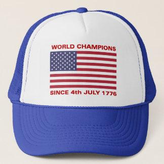 World war champions since 1776 trucker hat