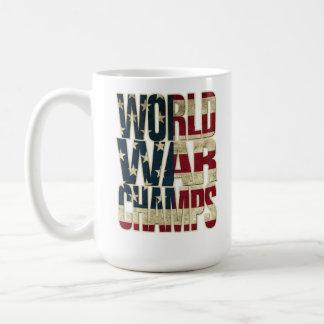 World War Champions - USA Flag Coffee Mug