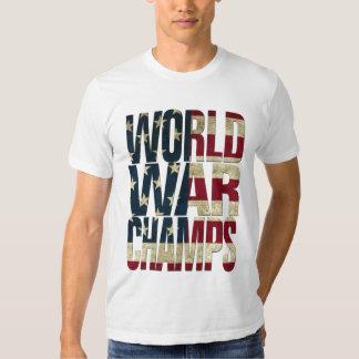 World War Champions - USA Flag T-Shirt