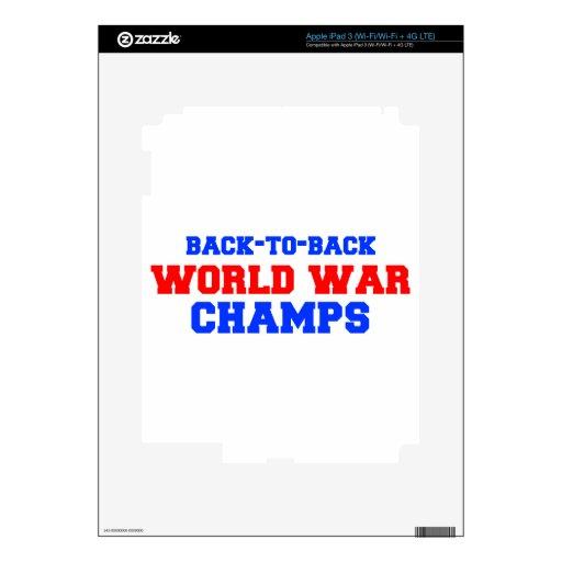 world-war-champs-freshman.png iPad 3 pegatinas skins