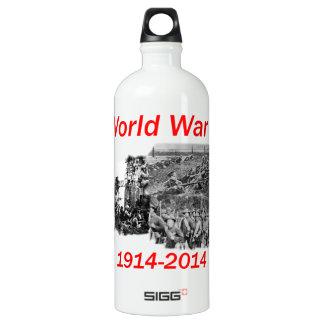World War I (1914-2014) Aluminum Water Bottle