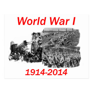 World War I (1914-2014) Postcard