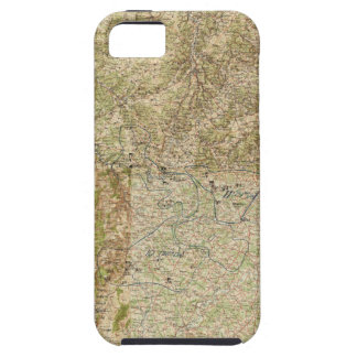 World War I 26th, 29th & 82nd Divs. 5th Corps Map iPhone 5 Case