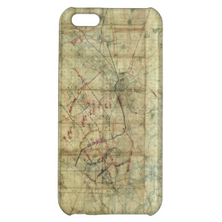 World War I Battle of the Canal du Nord Battle Map Cover For iPhone 5C