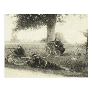 World War I, Bicycle Brigade Postcard