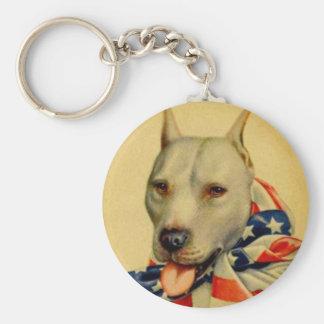 World War I Bull Dog Keychain