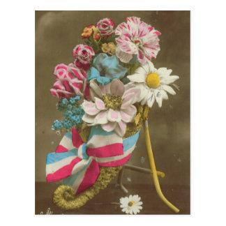 World War I, Flowers for France Postcard