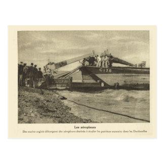 World War I, France, Aeroplanes Postcard