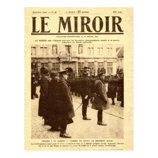 World War I, Le Mirroir Christmas 1914 Postcard
