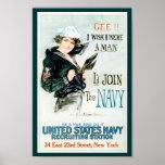 World War I Navy Recruiting Poster