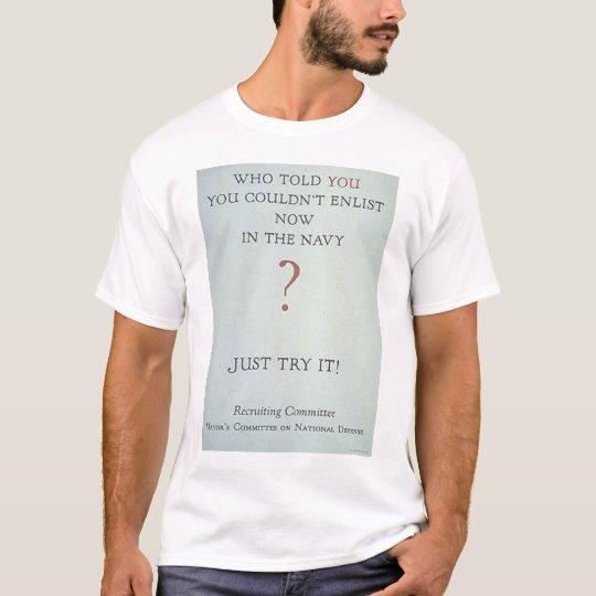World War I Poster T-Shirt
