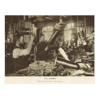 World War I,  Prosthetics factory Postcard