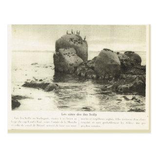 World War I, Scilly Isles observers Postcard
