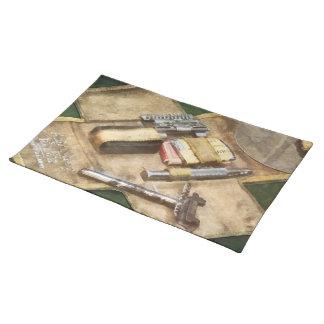 World War I Shaving Kit Place Mat