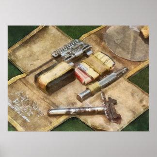 World War I Shaving Kit Poster