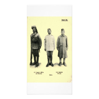 World War I Uniforms from India Card