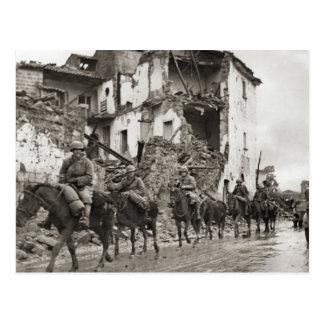 World War II    Allied patrol, Anzio Postcard