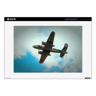 "World War II Bomber 15"" Laptop Skin"