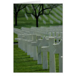 World War II cemetery, Memorial Day Card