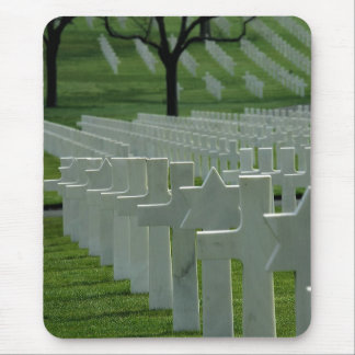 World War II cemetery, Memorial Day Mouse Pad