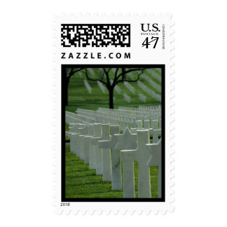 World War II cemetery, Memorial Day Postage