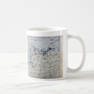 World War II D-Day Map June 6, 1944 Coffee Mug