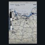 "World War II D-Day Map June 6, 1944 Dry Erase Board<br><div class=""desc"">World War II D-Day Map June 6,  1944</div>"