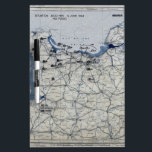 "World War II D-Day Map June 6, 1944 Dry Erase Board<br><div class=""desc"">World War II D-Day Map June 6,  1944</div>"