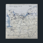 """World War II D-Day Map June 6, 1944 Notepad<br><div class=""""desc"""">World War II D-Day Map June 6,  1944</div>"""