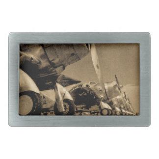 World War II Douglas SBD Dauntless Bomber Planes Belt Buckles