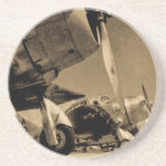 World War II Douglas SBD Dauntless Bomber Planes Beverage Coaster