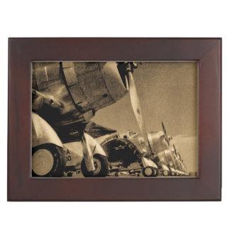 World War II Douglas SBD Dauntless Bomber Planes Keepsake Box