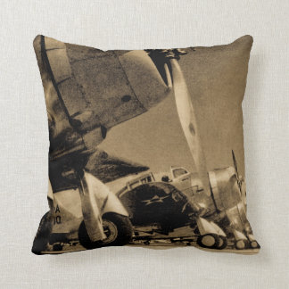 World War II Douglas SBD Dauntless Bomber Planes Pillow