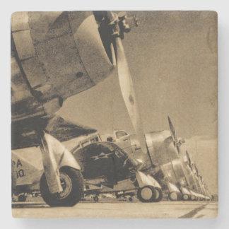 World War II Douglas SBD Dauntless Bomber Planes Stone Coaster