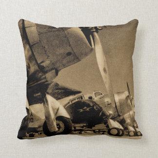 World War II Douglas SBD Dauntless Bomber Planes Throw Pillow