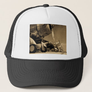 World War II Douglas SBD Dauntless Bomber Planes Trucker Hat