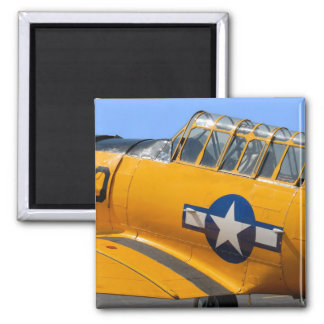 world war II fighter aircraft 2 Inch Square Magnet